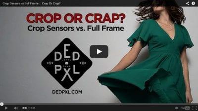 Crop sensor vs Full frame | Dr Rave`s Photography 2