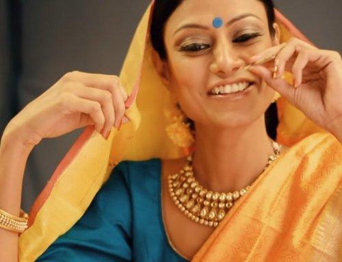 Behind the scenes video – Saree photoshoot | Aagman Ahmedabad
