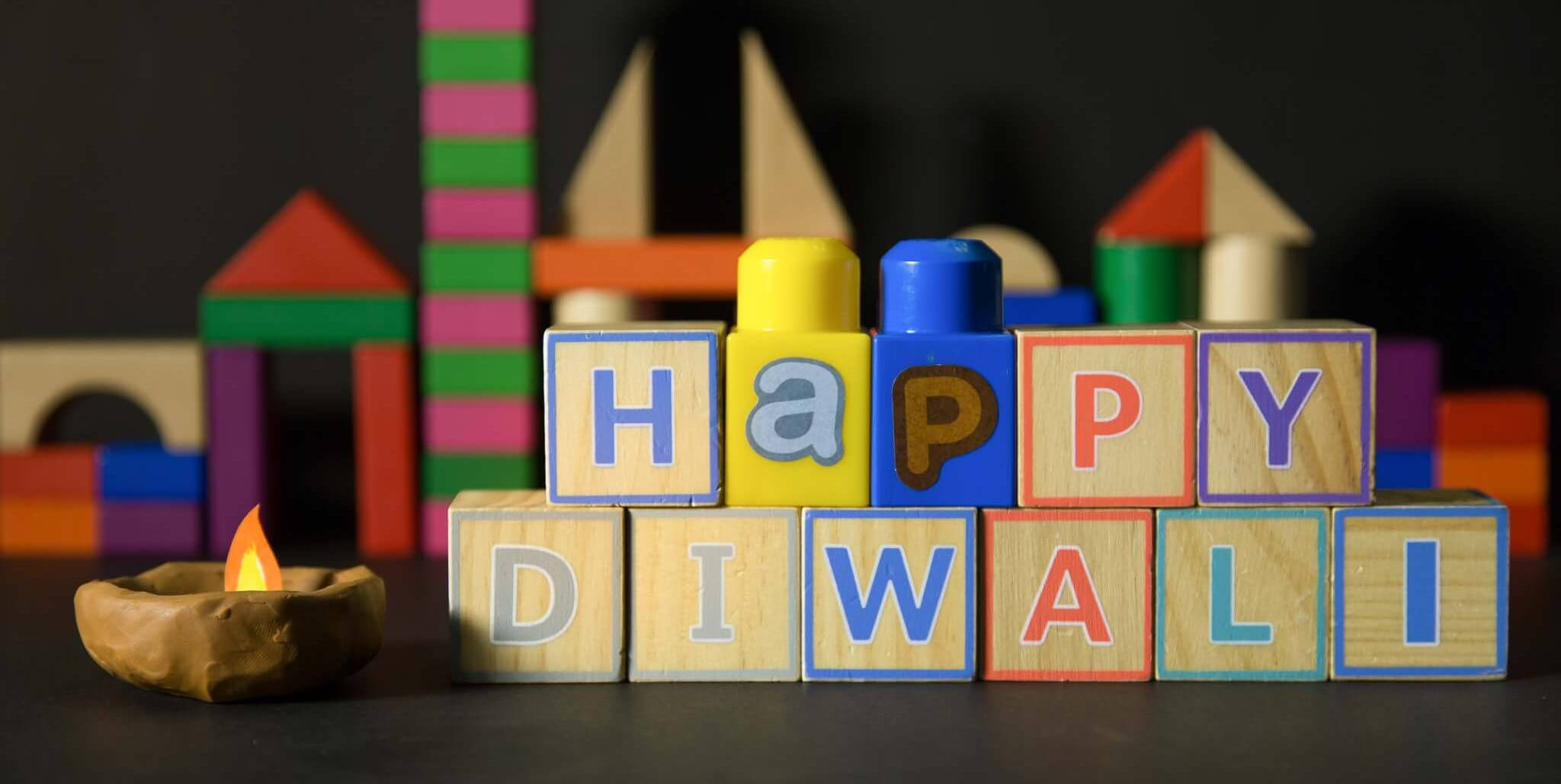 Stop motion Diwali greeting short film