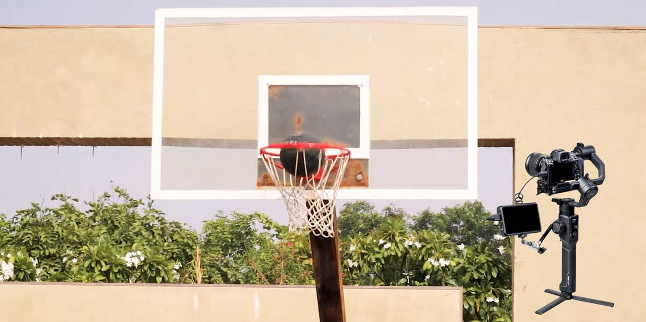 Basketball and Moza Air 2 test